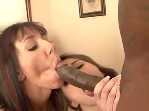 Step-Mom and daughter fucks the workman