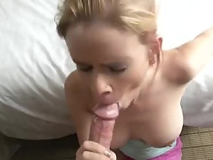 Wake Up Step Mom for Blowjob
