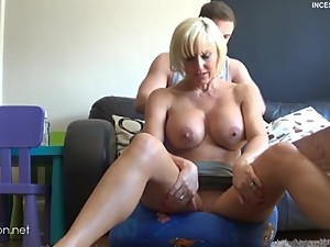 P3 - Step Mom needs a massage with no panties