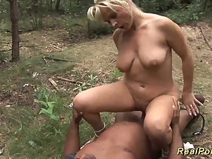 busty german stepmom black cock banged