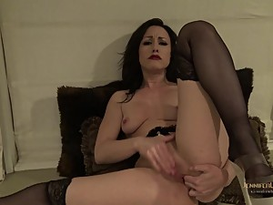 Stepmom Fingers Her Ass And Pussy For You And Begs You To Fuck
