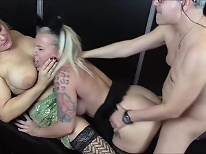 Family: Mom and Dad fuck adoptive daughter
