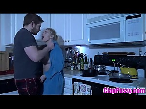 Stepmom &amp_ Stepson Affair 84 (In The Dark With Mommy) - ClapPussy.com