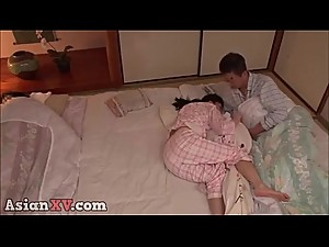 asianXV.com - mom and dad is sleeping while i crawl step daughter part 4