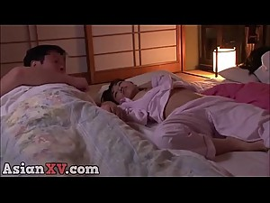 asianXV.com - mom and dad is sleeping while i crawl step daughter part 2