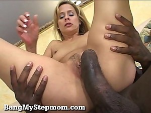 Horny Stepmom Has a Craving For Big Black Dick!