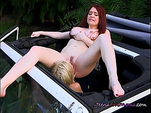 Lesbian Couple Does Pussy Serving To Each Other