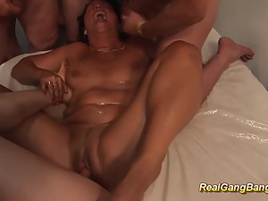 german stepmoms first gangbang